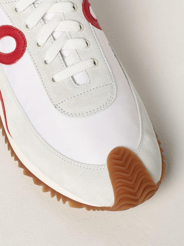 Zapatillas Loewe: Zapatillas hombre Loewe blanco 4