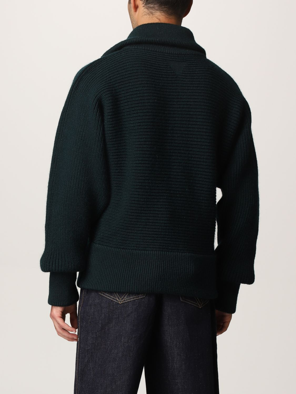 Sweater Bottega Veneta: Bottega Veneta sweater in shetland wool green 3
