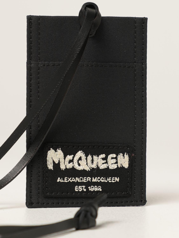 Portefeuille Alexander Mcqueen: Portefeuille homme Alexander Mcqueen noir 3