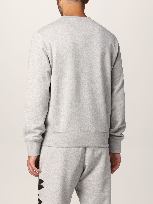 Sweatshirt Alexander Mcqueen: Alexander McQueen sweatshirt with graffiti logo print grey 3