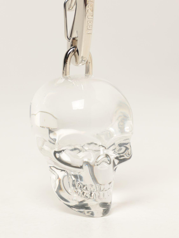 Keyring Alexander Mcqueen: Alexander McQueen Skull Keychain transparent 2