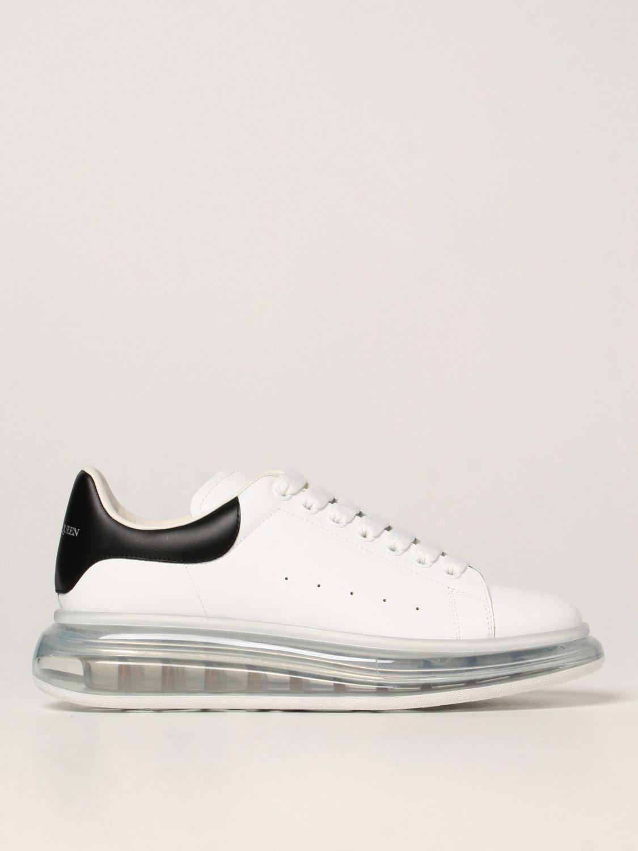 Sneakers Alexander Mcqueen: Larry Alexander McQueen leather sneakers white 1