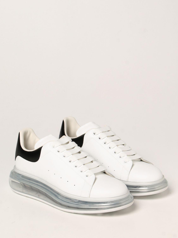 Sneakers Alexander Mcqueen: Larry Alexander McQueen leather sneakers white 2