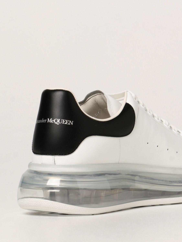 Sneakers Alexander Mcqueen: Larry Alexander McQueen leather sneakers white 3