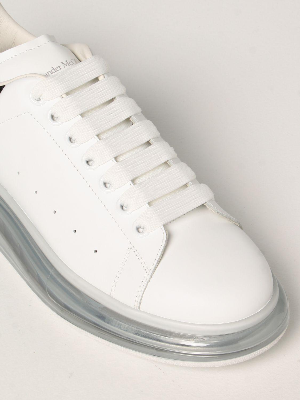 Sneakers Alexander Mcqueen: Larry Alexander McQueen leather sneakers white 4