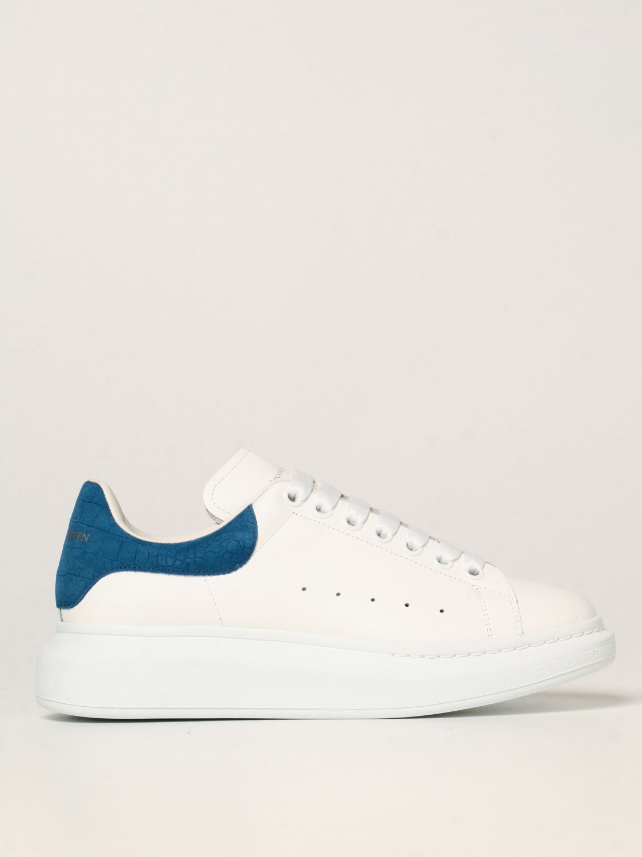 Sneakers Alexander Mcqueen: Sneakers Larry Alexander McQueen in pelle elettrico 1
