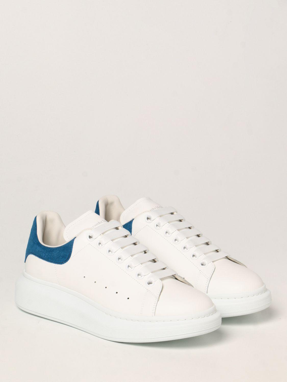 Sneakers Alexander Mcqueen: Sneakers Larry Alexander McQueen in pelle elettrico 2