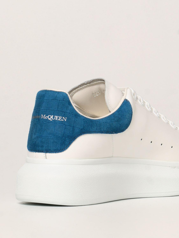 Sneakers Alexander Mcqueen: Sneakers Larry Alexander McQueen in pelle elettrico 3
