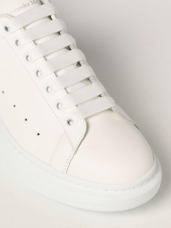 Sneakers Alexander Mcqueen: Sneakers Larry Alexander McQueen in pelle elettrico 4