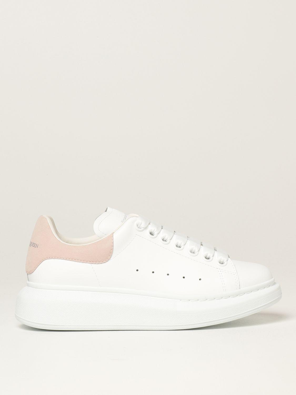 Sneakers Alexander Mcqueen: Sneakers Larry Alexander McQueen in pelle bianco 1