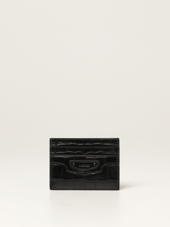 Wallet Balenciaga: Wallet men Balenciaga black 1