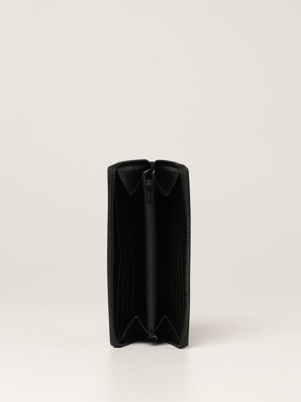 Portafoglio Balenciaga: Portafoglio Neo Classic Balenciaga in pelle martellata nero 2