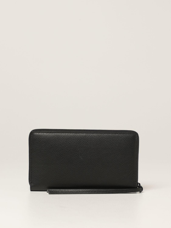 Portafoglio Balenciaga: Portafoglio Neo Classic Balenciaga in pelle martellata nero 3
