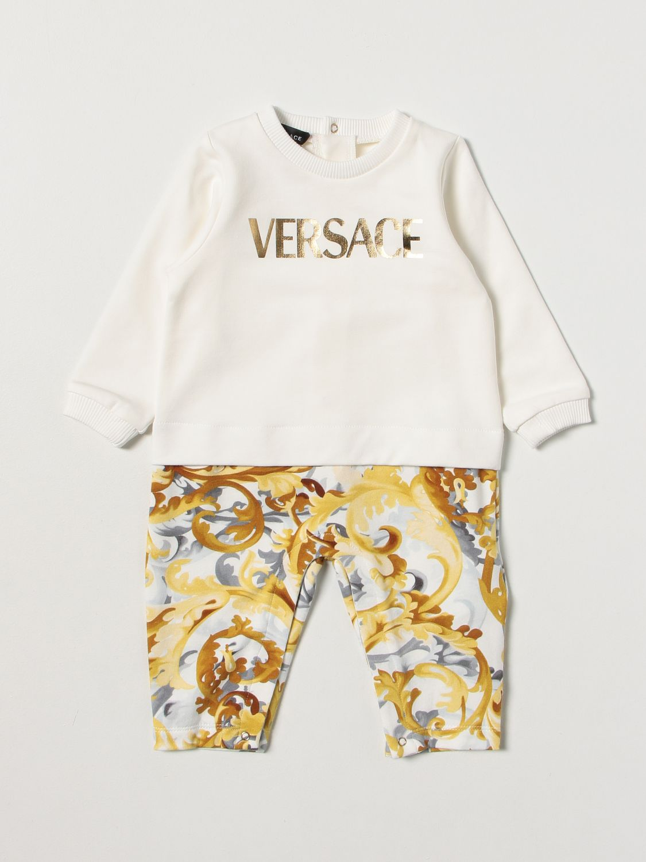 Combinaisonn Young Versace: Body enfant Versace Young blanc 1