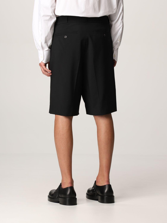 Pantaloncino Valentino: Pantaloncino Valentino in lana nero 3