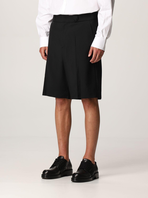 Pantaloncino Valentino: Pantaloncino Valentino in lana nero 4