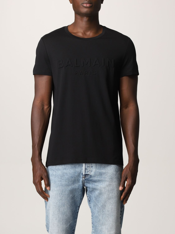 T-shirt Balmain: T-shirt uomo Balmain nero 1