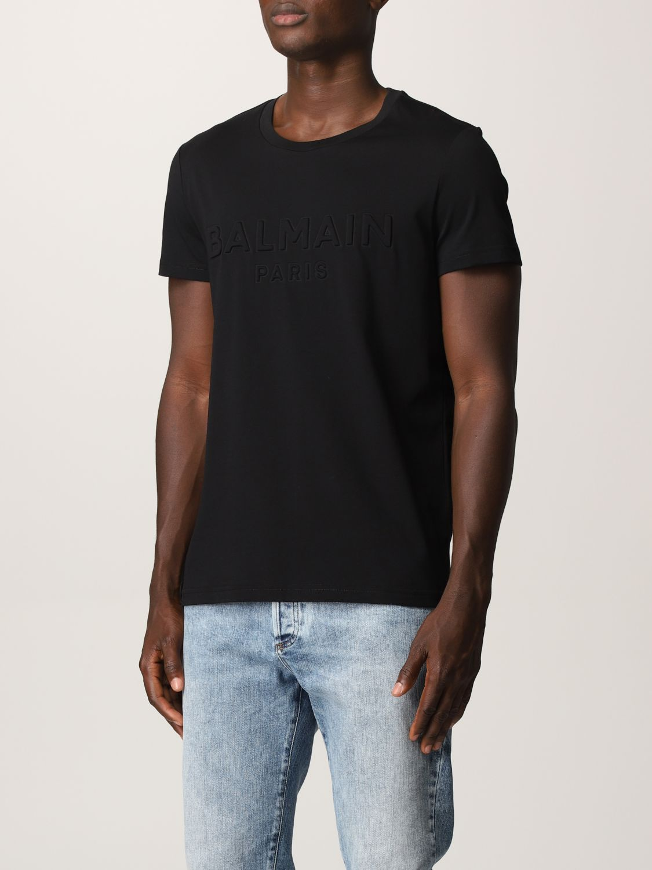 T-shirt Balmain: T-shirt uomo Balmain nero 4