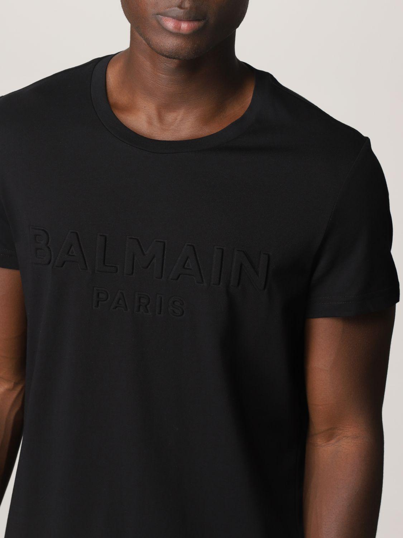 T-shirt Balmain: T-shirt uomo Balmain nero 5