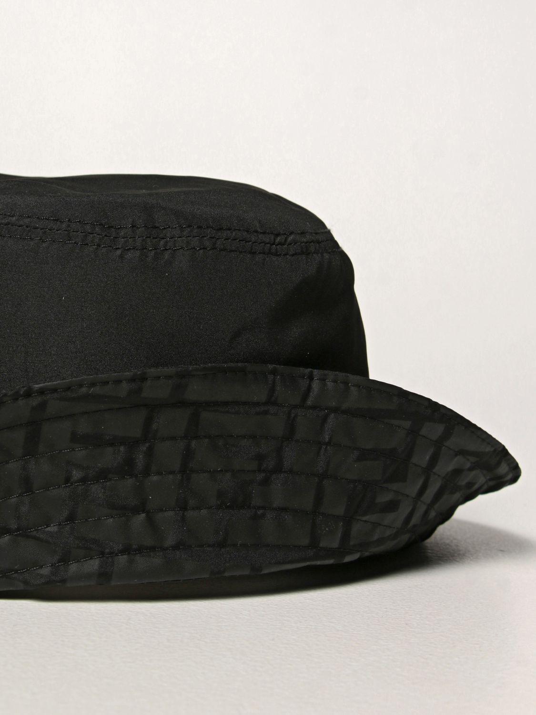 Chapeau Fendi: Chapeau enfant Fendi noir 3