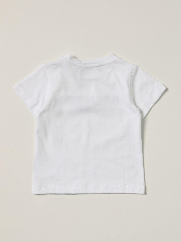 T-shirt Balmain: Balmain cotton t-shirt with logo white 1 2