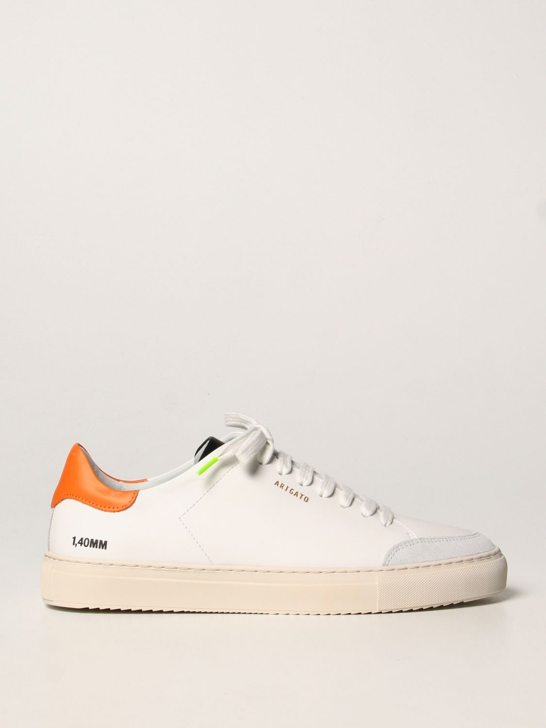 Trainers Axel Arigato: Axel Arigato sneakers in leather with logo orange 1