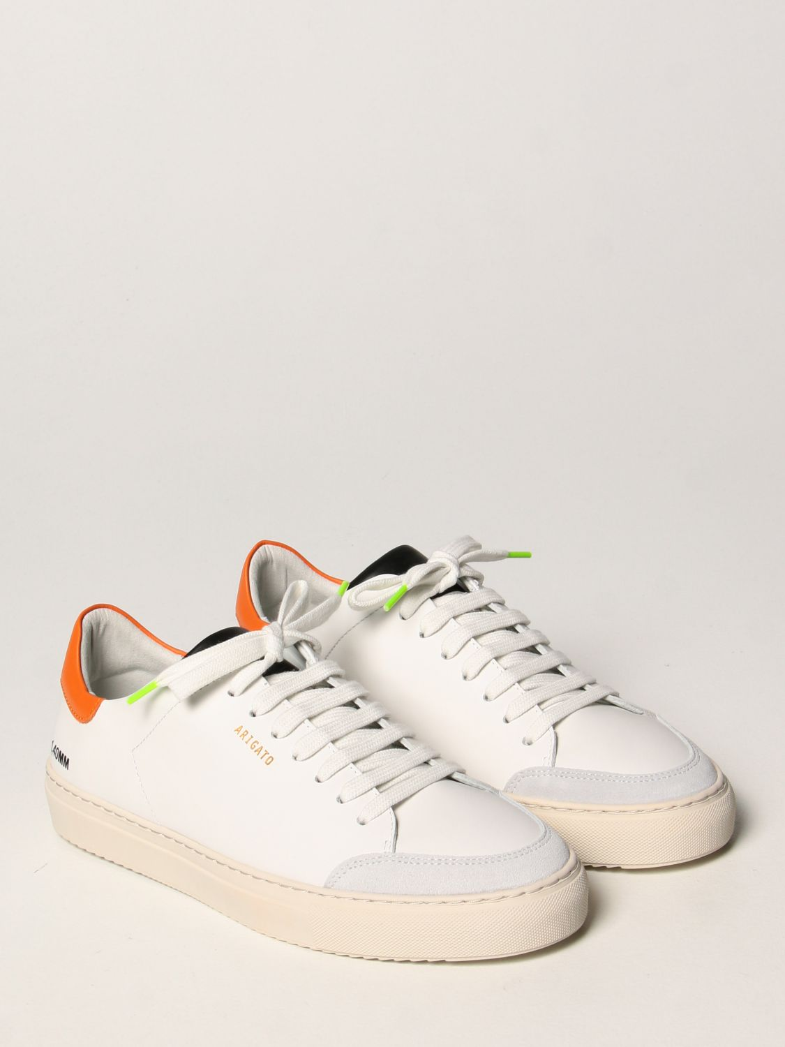 Trainers Axel Arigato: Axel Arigato sneakers in leather with logo orange 2