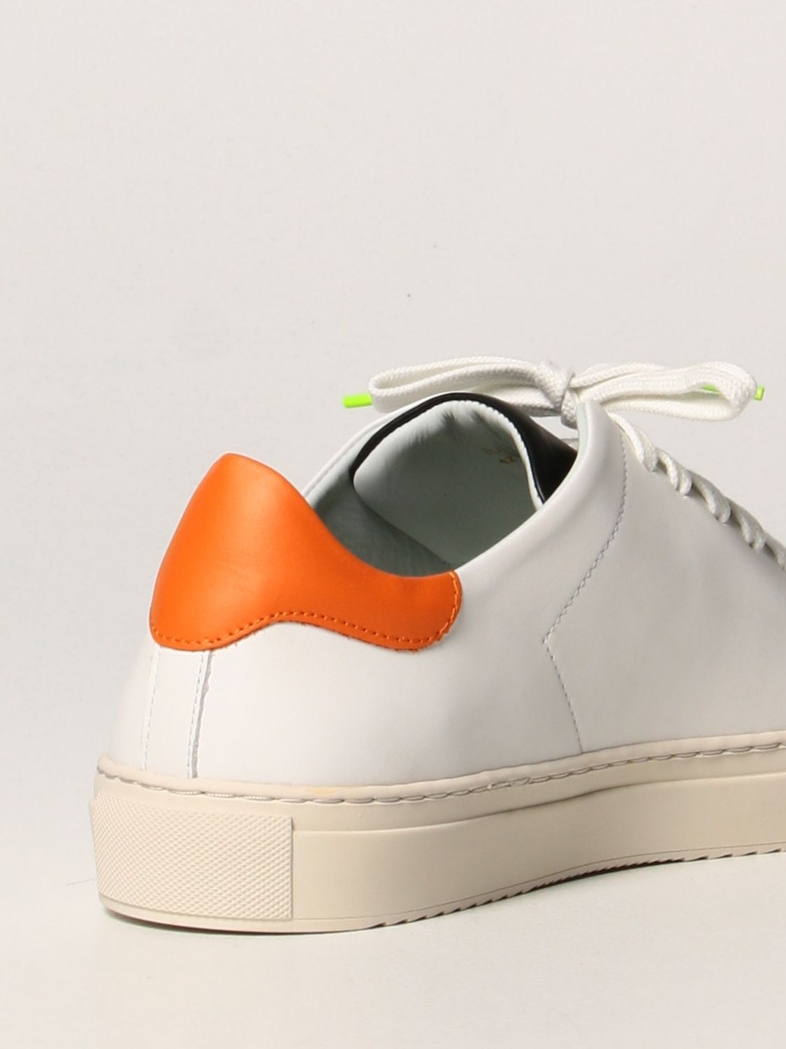 Trainers Axel Arigato: Axel Arigato sneakers in leather with logo orange 3