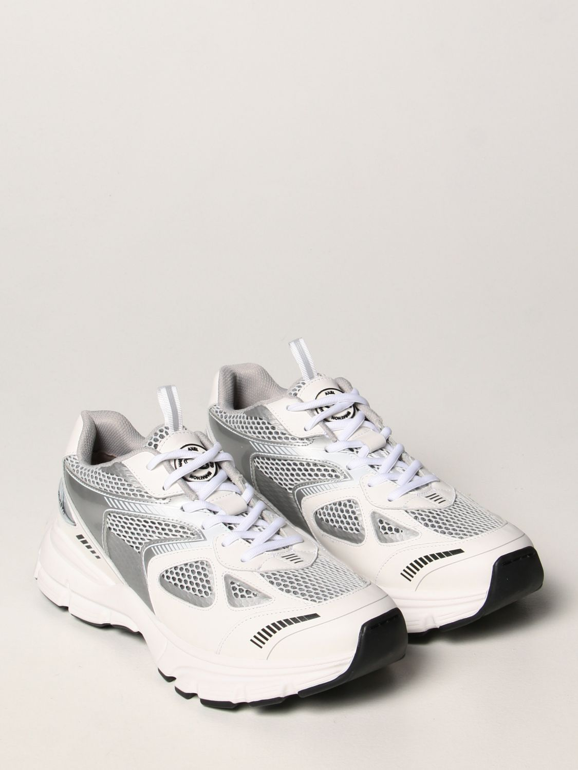 Sneakers Axel Arigato: Axel Arigato sneakers in leather and mesh white 2