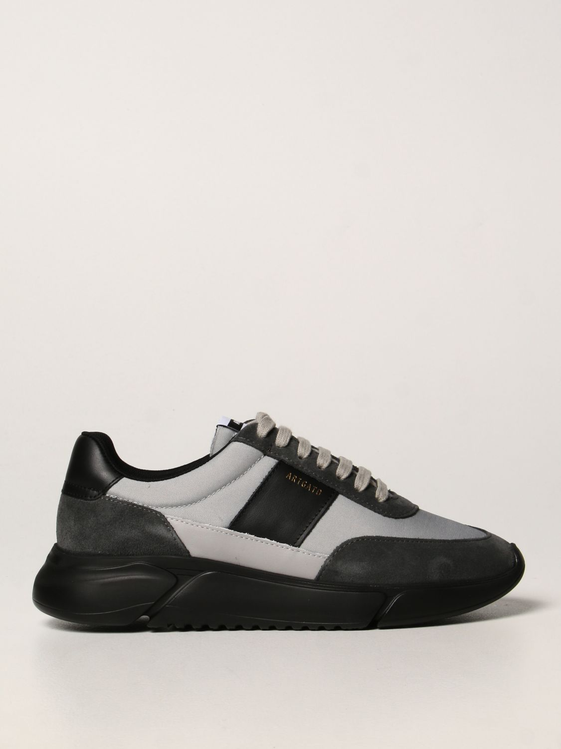 Sneakers Axel Arigato: Axel Arigato sneakers in leather, fabric and suede black 1