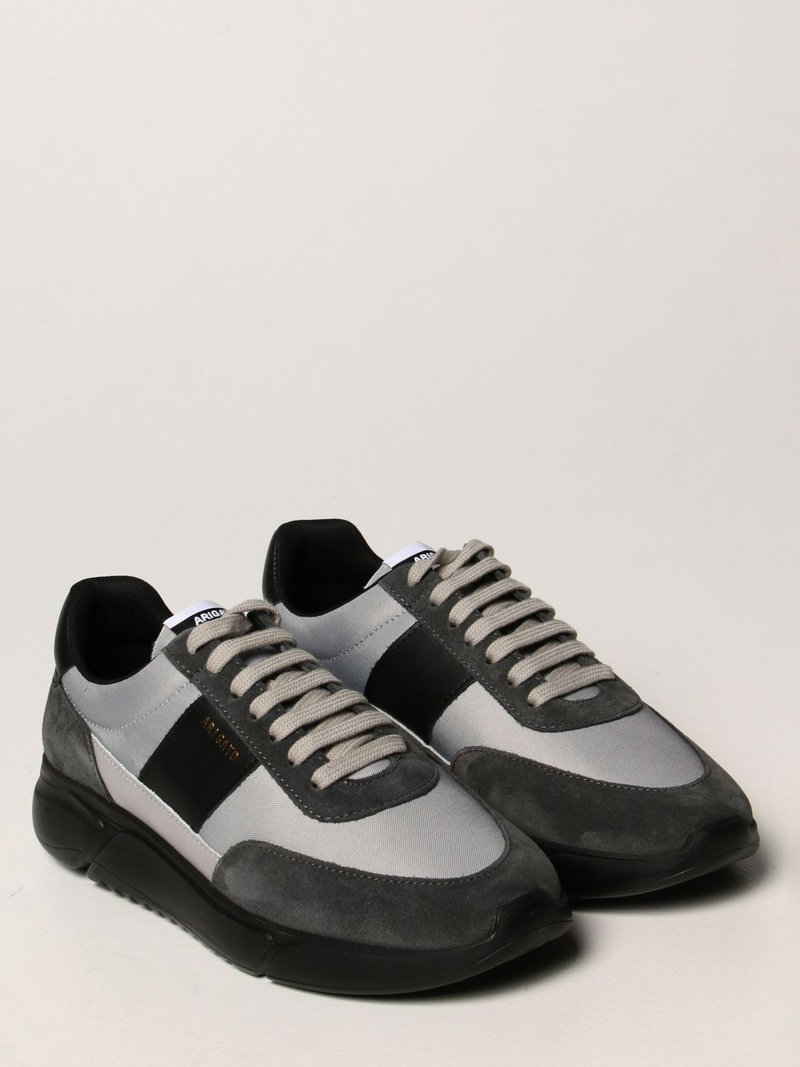Sneakers Axel Arigato: Axel Arigato sneakers in leather, fabric and suede black 2