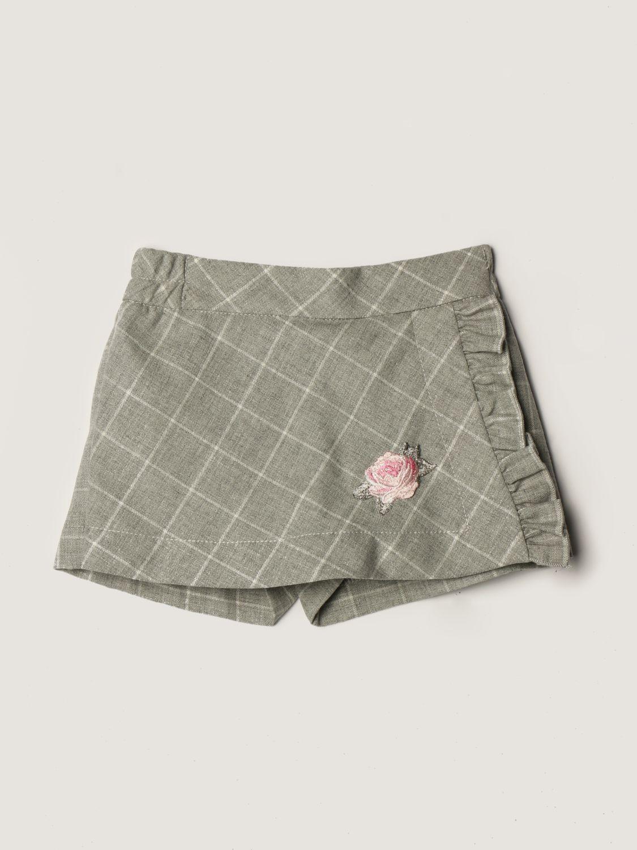 短裤 Monnalisa: 裤子 儿童 Monnalisa 灰色 1