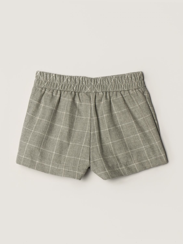 短裤 Monnalisa: 裤子 儿童 Monnalisa 灰色 2