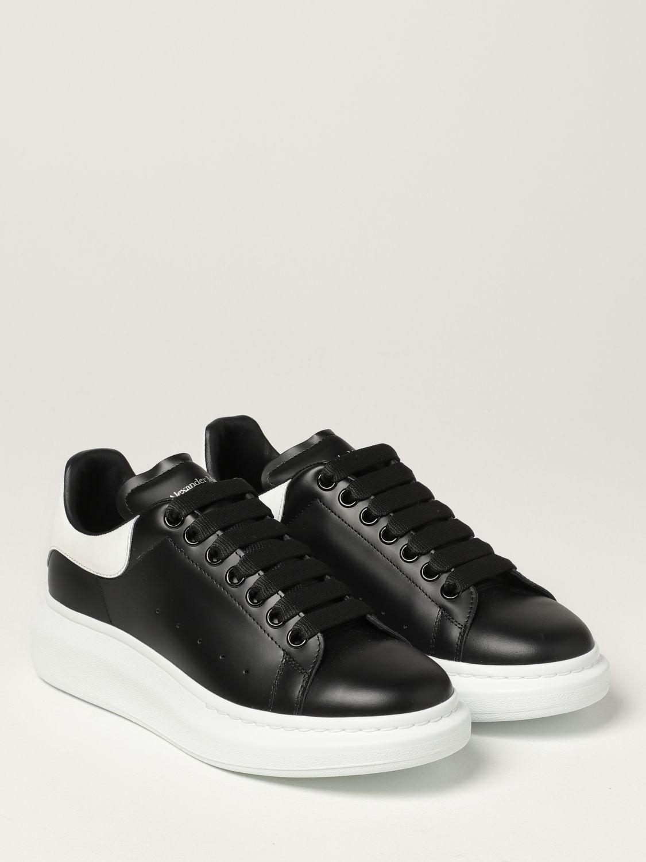 Trainers Alexander Mcqueen: Larry Alexander McQueen trainers in leather black 2