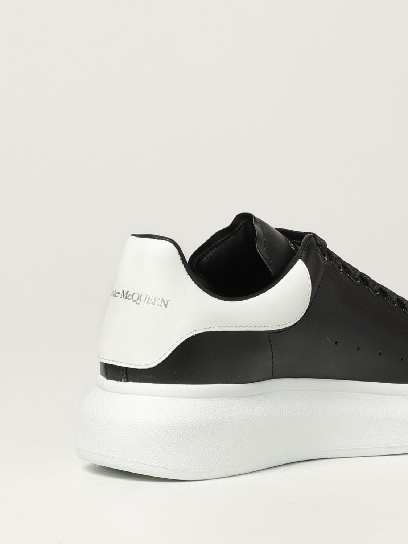 Trainers Alexander Mcqueen: Larry Alexander McQueen trainers in leather black 3