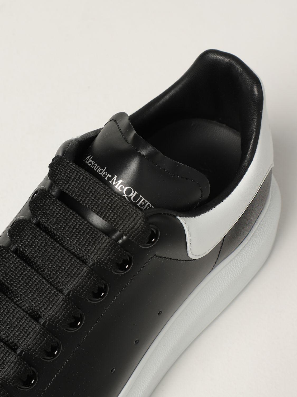 Trainers Alexander Mcqueen: Larry Alexander McQueen trainers in leather black 4
