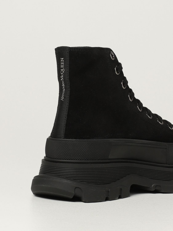 Boots Alexander Mcqueen: Alexander McQueen ankle boot in suede black 3