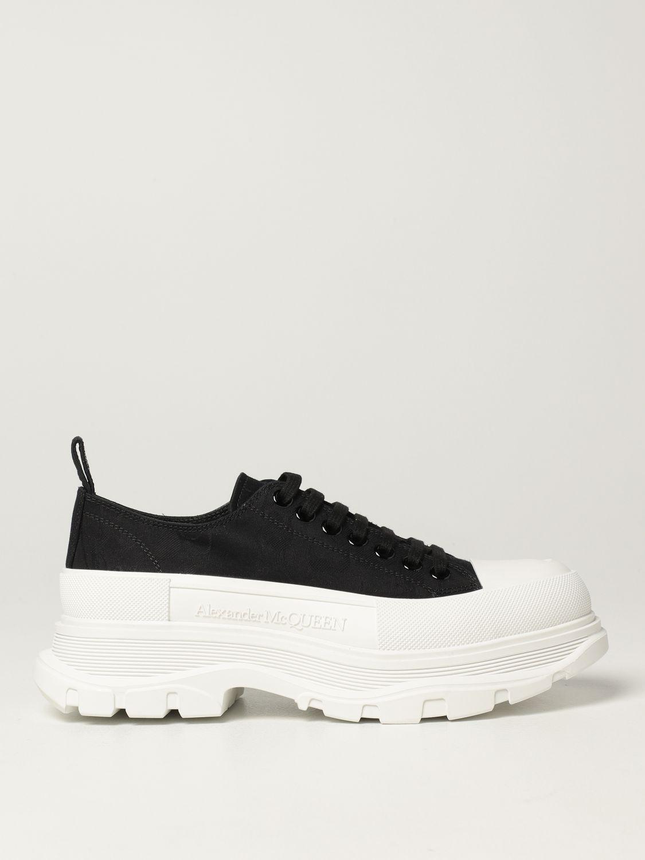 Sneakers Alexander Mcqueen: Alexander McQueen sneakers in fabric black 1
