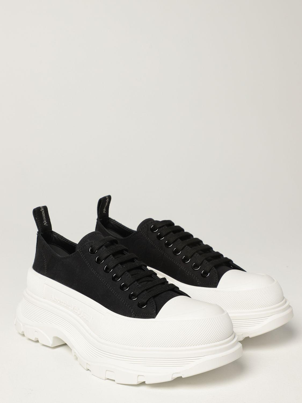 Sneakers Alexander Mcqueen: Alexander McQueen sneakers in fabric black 2