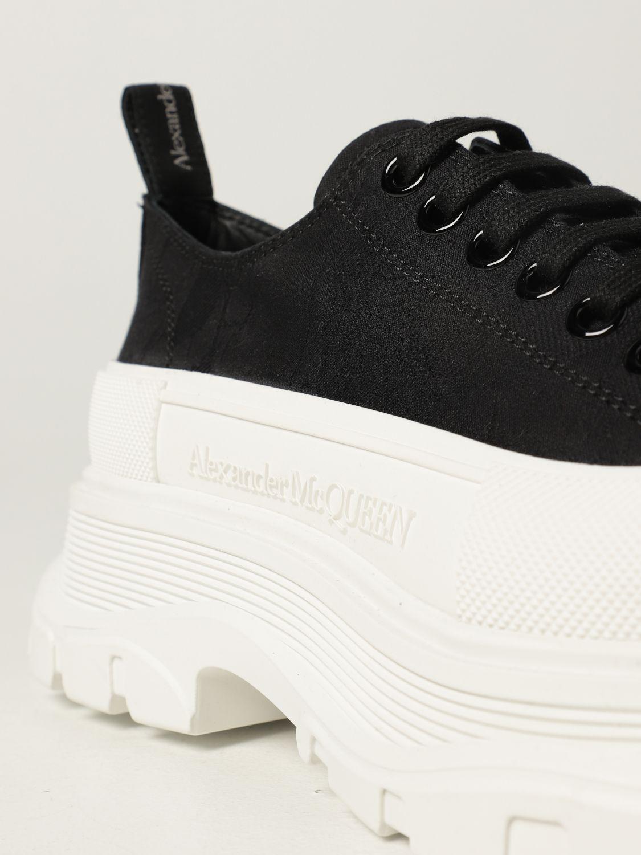 Sneakers Alexander Mcqueen: Alexander McQueen sneakers in fabric black 4