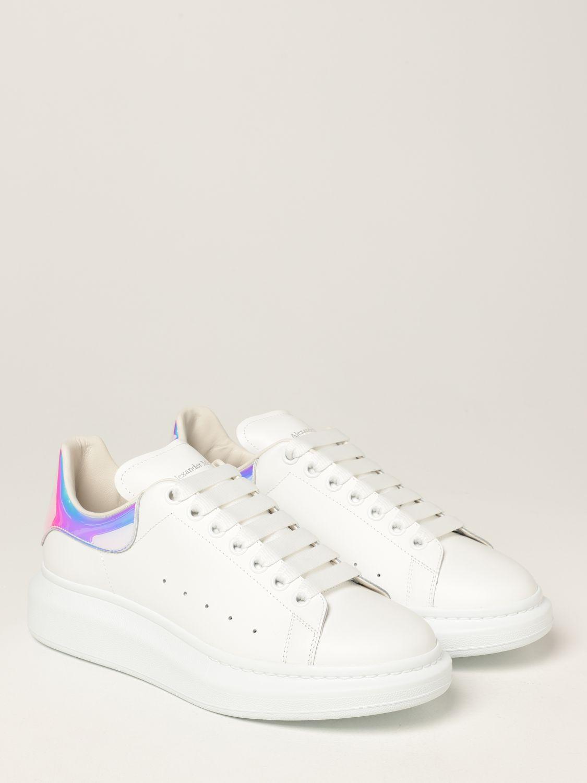 Sneakers Alexander Mcqueen: Sneakers Larry Alexander McQueen in pelle bianco 2