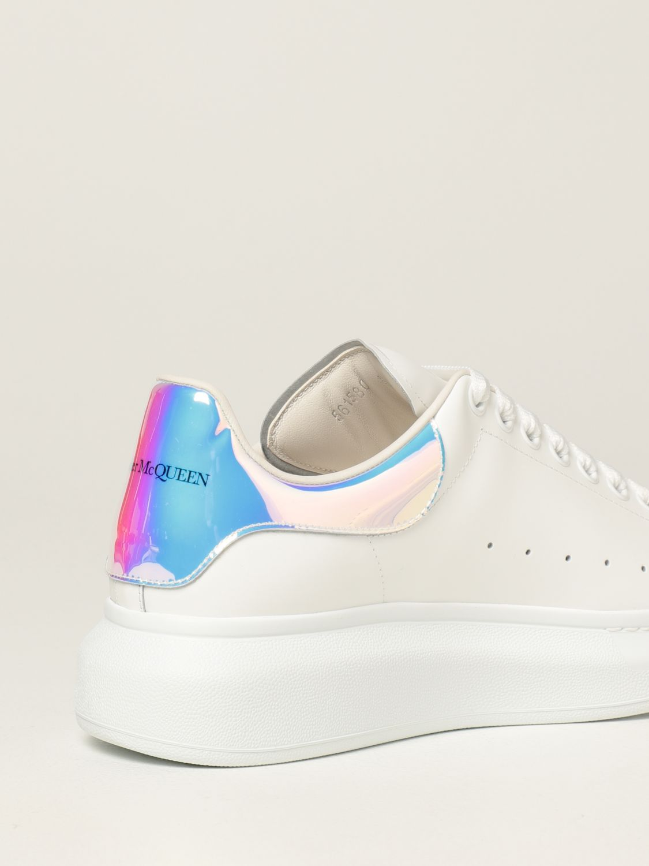 Sneakers Alexander Mcqueen: Sneakers Larry Alexander McQueen in pelle bianco 3