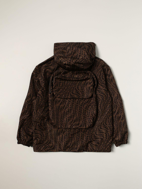 Jacket Fendi: Fendi jacket with all-over FF Vertigo logo tobacco 2