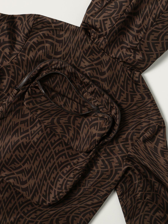 Jacket Fendi: Fendi jacket with all-over FF Vertigo logo tobacco 3