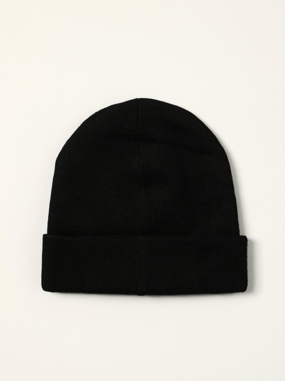 Hat Alexander Mcqueen: Alexander McQueen beanie hat with logo black 2