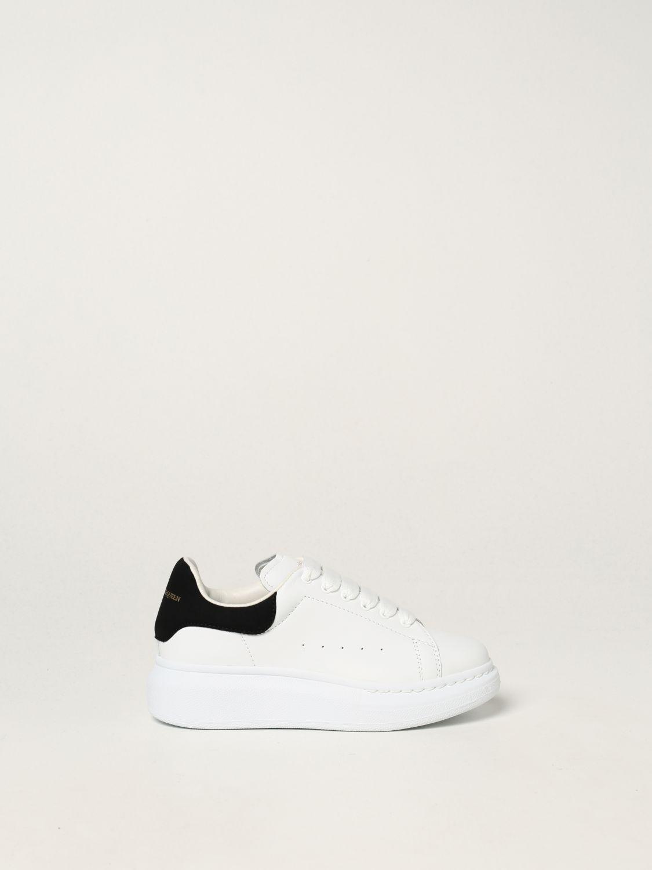 Scarpe Alexander Mcqueen: Sneakers Alexander McQueen in pelle bianco 2 1