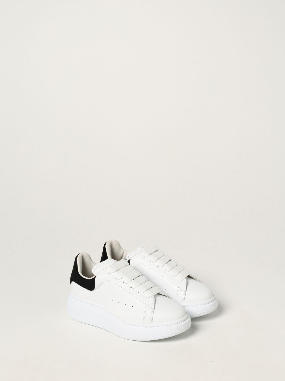 Scarpe Alexander Mcqueen: Sneakers Alexander McQueen in pelle bianco 2 2