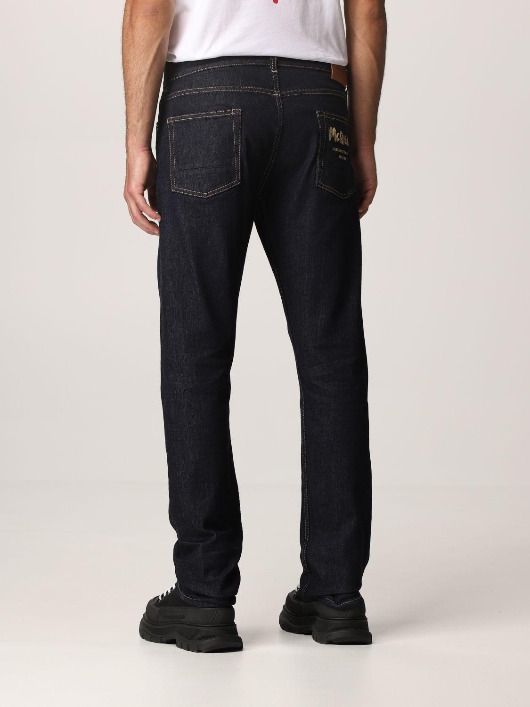 Jeans Alexander Mcqueen: Pants men Alexander Mcqueen indigo 3