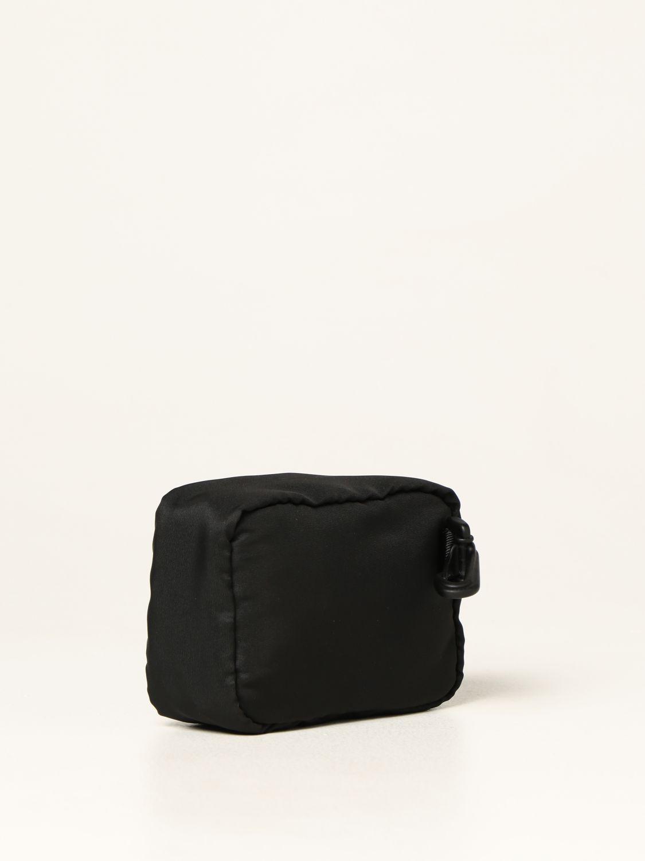 Portadocumenti Alexander Mcqueen: Porta tutto Alexander McQueen in nylon con logo Graffiti nero 2