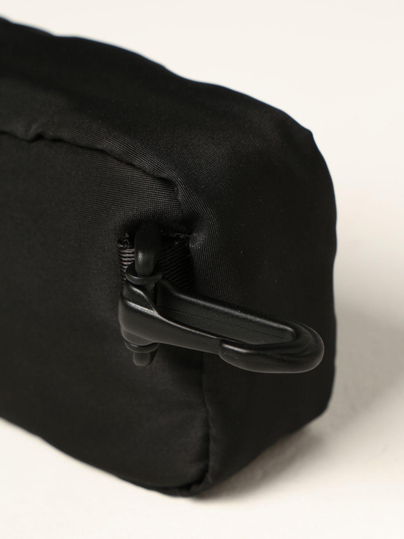 Portadocumenti Alexander Mcqueen: Porta tutto Alexander McQueen in nylon con logo Graffiti nero 3